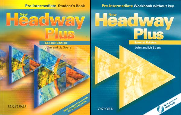 حل كتاب انجليزي headway plus